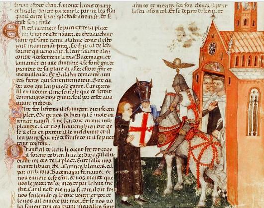 perceval rencontre des chevaliers